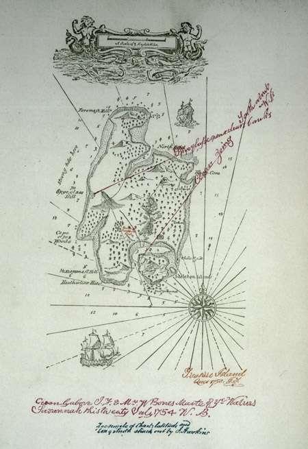 El mapa perdido de la Isla del Tesoro